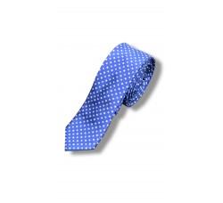 Галстук синий узкий