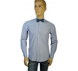Рубашка Vester серая (slim)