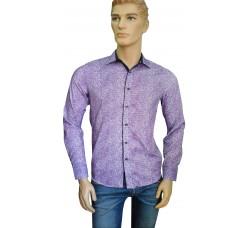 Рубашка Infinity сиреневая 1098