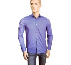 Рубашка Infinity синяя 0233